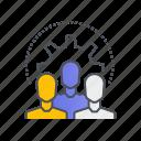 teamwork, business, group, management, team