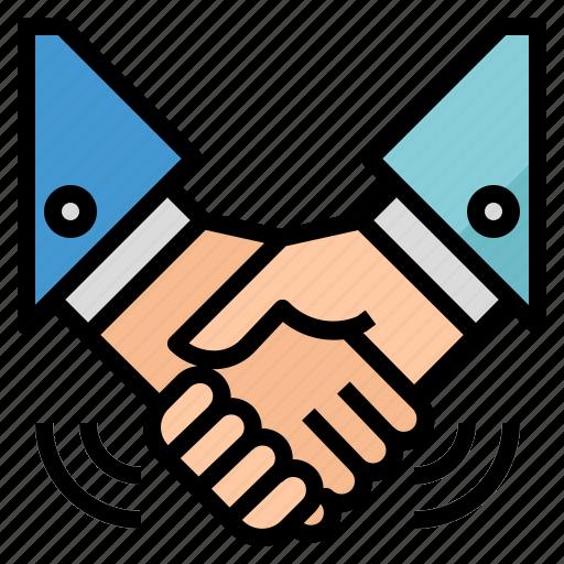 Agreement, deal, handshake, partnership icon - Download on Iconfinder