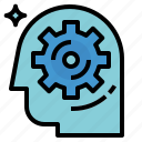 brain, process icon
