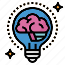 brain, idea icon