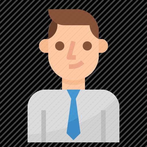 Avatar, business, businessman, employee, man, worker icon - Download on Iconfinder