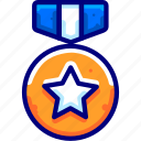 achievements, awards, bukeicon, gold, medals icon