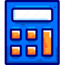business, calc, calculator, math icon