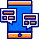 agreement, bukeicon, chat, conversation, discussion icon
