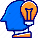 bukeicon, content, creative, creativity, finance, ideas, thought icon