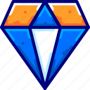 diamond, dollar, finance, moneybukeicon icon
