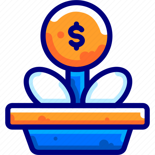 Bukeiconfinance, growth, money, tree icon - Download on Iconfinder