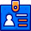 business, card, finance, identity icon