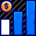 bar, bukeicon, chart, finance, graph, increase, profit