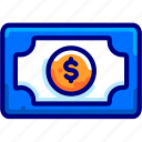 and, bukeicon, business, dollar, finance, money, payment icon