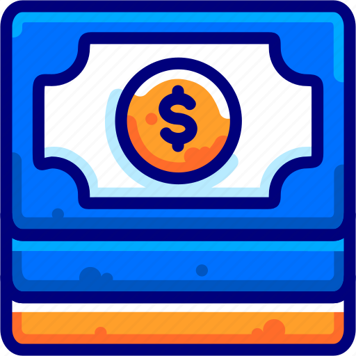 Bukeicon, dollars, finance, paper, piles icon - Download on Iconfinder