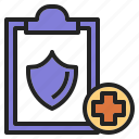 checkup, health, hospital, insurance icon