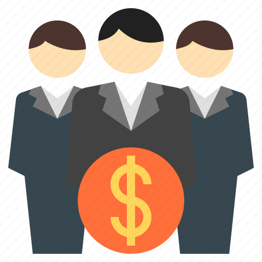 business, business team, businessman, finance, financial team, workforce icon