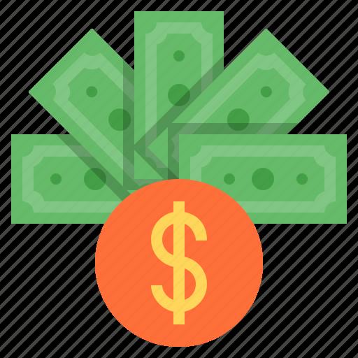 dollar, earning, money, profit, rich, salary, wealth icon