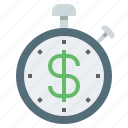 business improvement, business optimization, business time, improvement, optimization, wealth improvement, wealth optimization icon