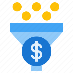 funnel, marketing funnel, profitable funnel, sales funnel icon