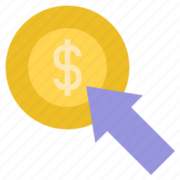 pay per click, pay per click advertising, ppc, ppc advertising icon