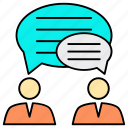 business, chat, conversation, discussion, meeting, message