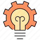 business, cogwheel, controllers, management, marketing, strategy icon