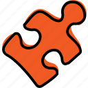 game, puzzle, solve icon