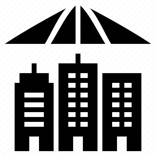 building protection, business, business insurance, business protection, house insurance, property protection, real estate insurance icon