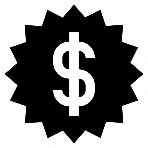 business, currency, dollar, finance, money, price, price tag icon