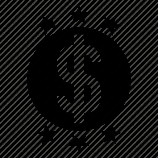 business, dollar sign, finance, money, profit, wealth icon