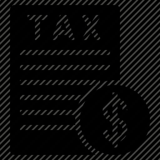 filing tax, pay tax, paying tax, tax, tax document, tax file, tax report icon