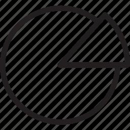 business, chart, finance, graph, money, pie, pie chart icon