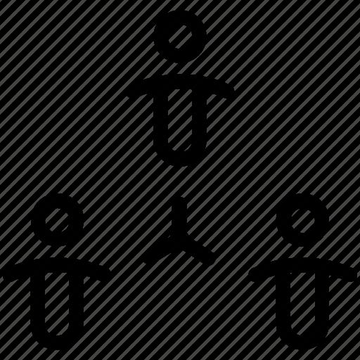 connection, team, teamwork icon
