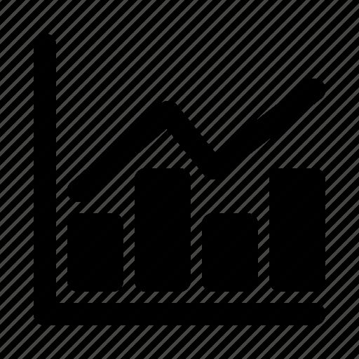 analysis, bar, chart, diagram, graph, progress, statistic icon