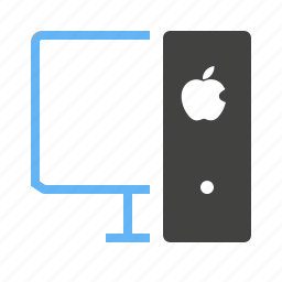 communication, computer, desktop, digital, monitor, screen, technology icon