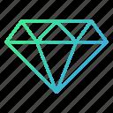 business, gemstone, jewel, stone icon