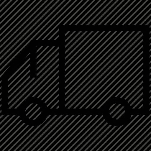 carrier, mover van, transport, van, vehicle icon