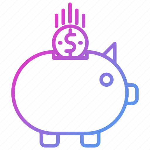 bank, banking, business, piggy, savings icon
