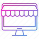 business, market, online, shopping, store icon
