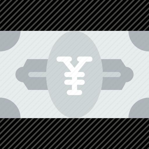 bank, bill, business, financial, money, sell, yen icon