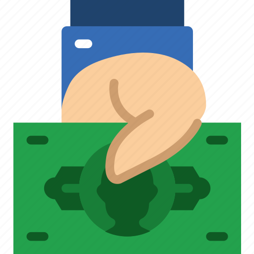 bank, bill, business, financial, give, money, sell icon