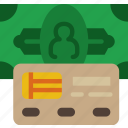 bank, business, financial, method, money, payment, sell icon