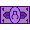 bank, bill, business, financial, money, sell icon