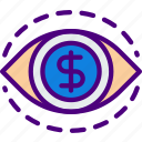 bank, business, financial, fixation, money, sell icon