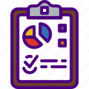 bank, business, clipboard, financial, money, sell icon