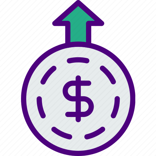 bank, business, financial, money, receive, sell icon