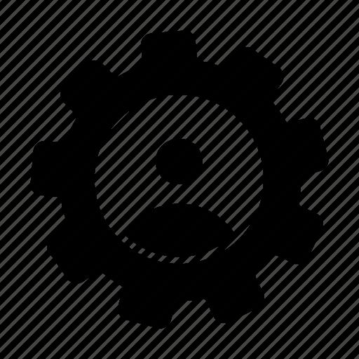 cofiguration, profile, setting icon
