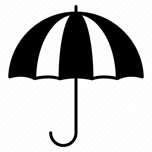 insurance, rainy, umbrella icon