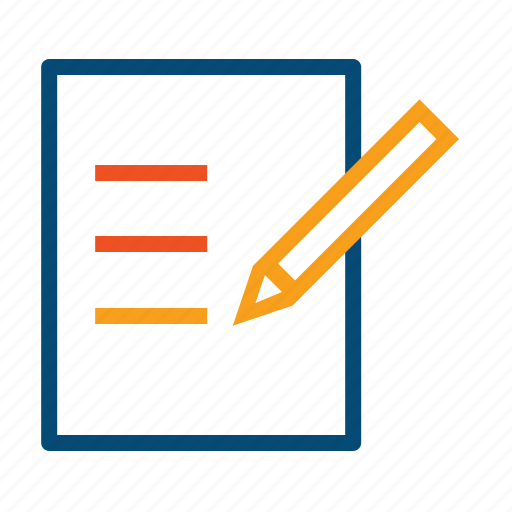 deals, examine, form, guide, list, note, proofreading, records, survey, to do icon