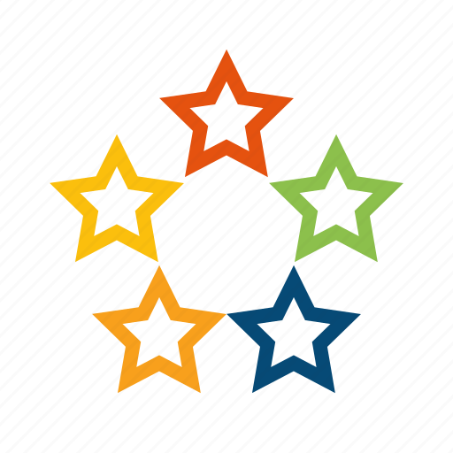 Rating, review, favorite, rate, fivestar, featured, five, stars, recommend, popular, quality, best icon