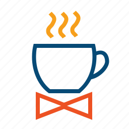 break, breakfast, business breakfast, coffee, cup, hot cup, tie icon