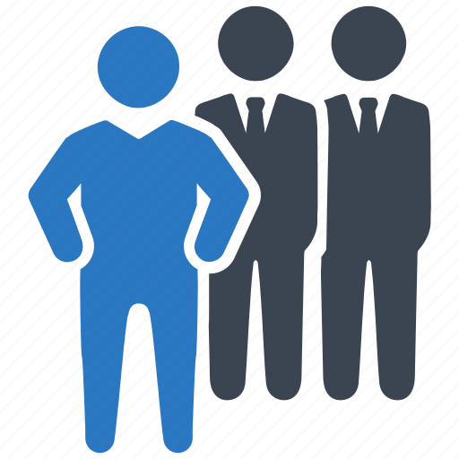 Businessman, leadership, team icon - Download on Iconfinder