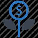 investment, revenue icon
